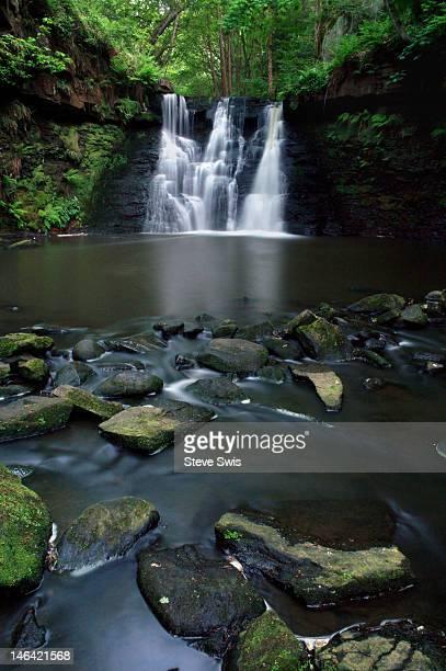 Goit stock falls, Bradford, Yorkshire