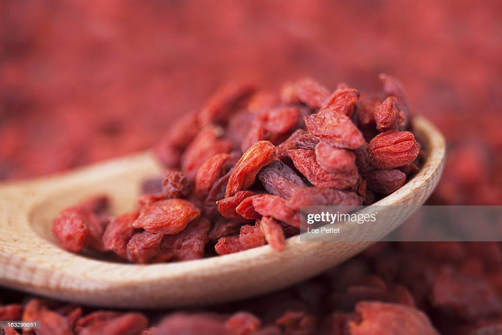 Goji Berries (Wolfberry) : Stock Photo