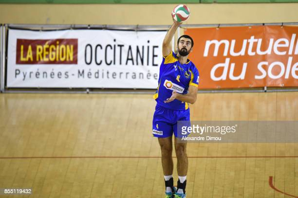 Gojko Cuk of Nice during the Volleyball friendly match on September 22 2017 in Montpellier France