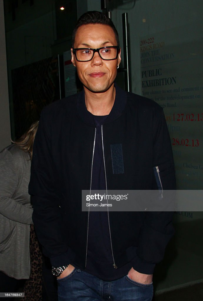 Gok Wan sighting on March 27, 2013 in London, England.