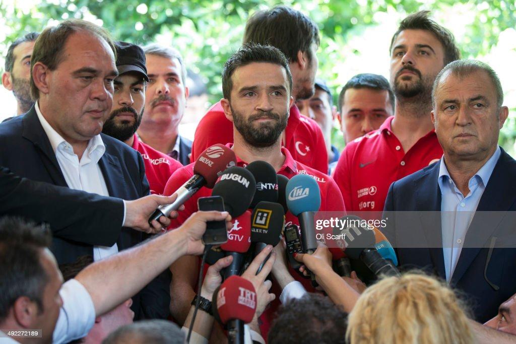 Turkish National Football Team Visiting Soma