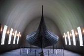 Gokstad viking ship 9th century Viking ship museum Oslo Norway Oslo Vikingskipshuset