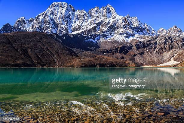Gokyo Lake (Third Lake), Sagarmatha National Park,