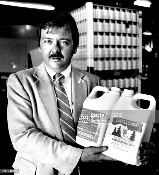 Golbeville Clark Thompson vice president 7 Marketing Antifreeze packageing operation at Colorado Petroleum Products Credit The Denver Post