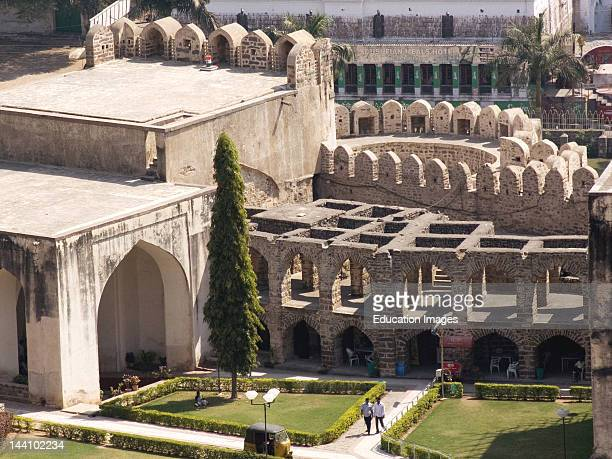 Golconda Fort Hyderabad Andhra Pradesh India