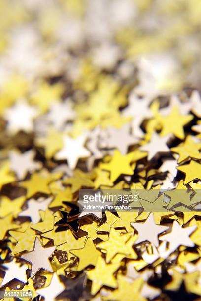 Gold and silver stars