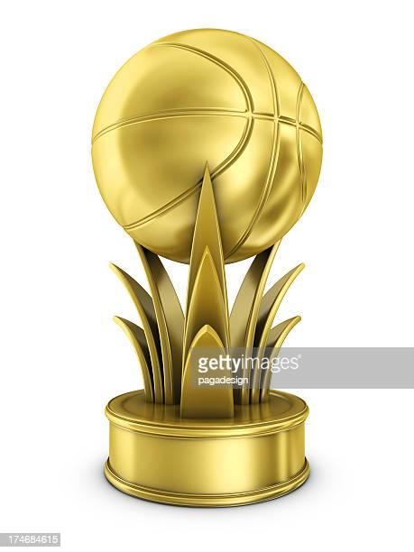 gold basketball award