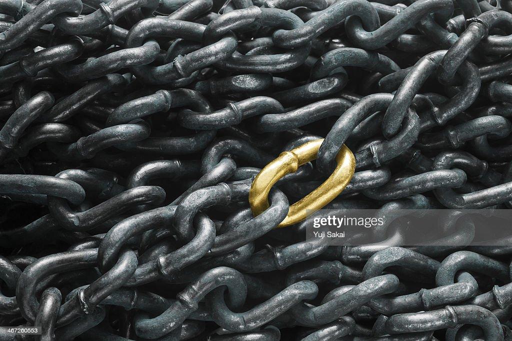 gold chain join chain