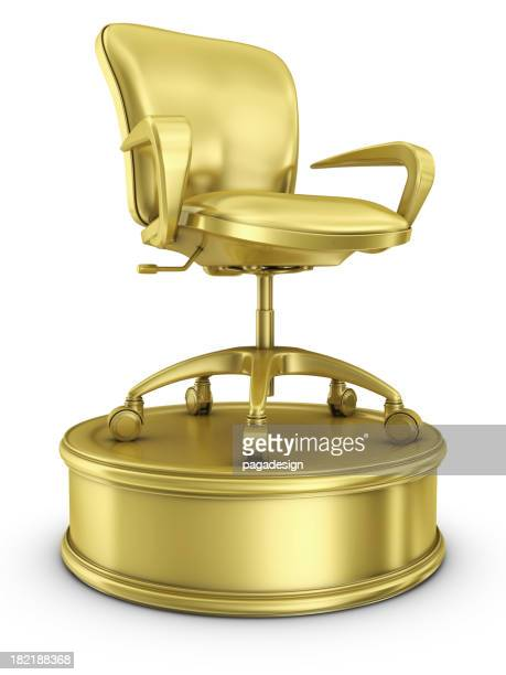 gold chair - office award