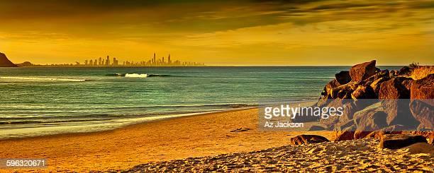 Gold Coast on the horizon