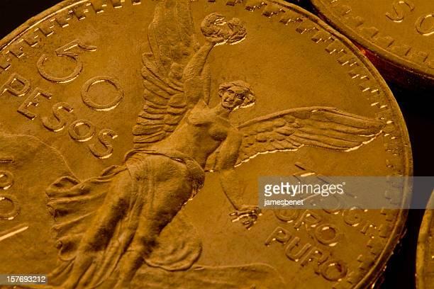 Extreme Close Up moneda de oro
