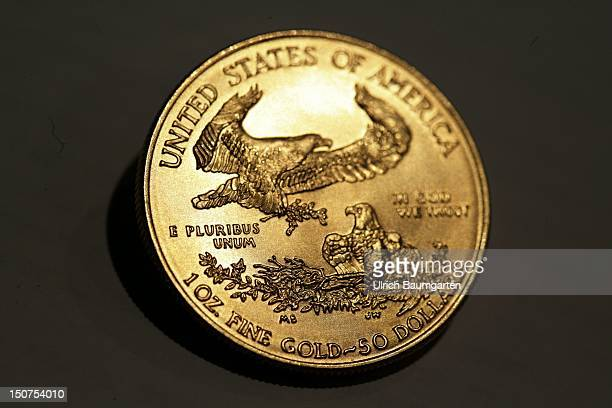 GERMANY MUNICH gold coin Oour picture shows the American Eagle