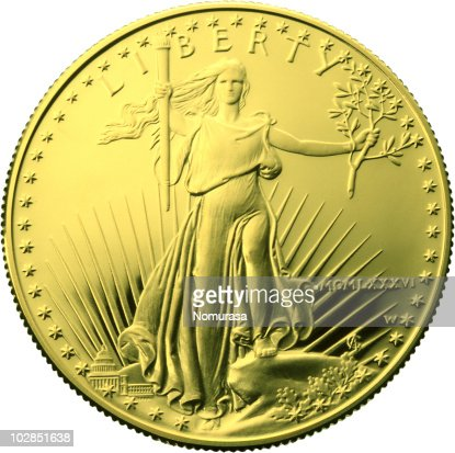 gold coin : Foto de stock