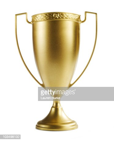 Gold Cup Trophy : Stock Photo