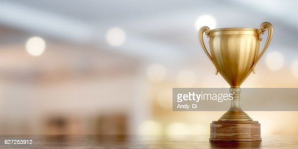 gold cup winner : Stock Photo