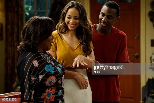 SHOW 'Gold Diggers' Episode 313 Pictured Loretta Devine as Cynthia Carmichael Amber Stevens West as Maxine NorthCarmichael Jerrod Carmichael as...