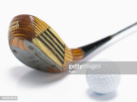 Gold Driver and Ball