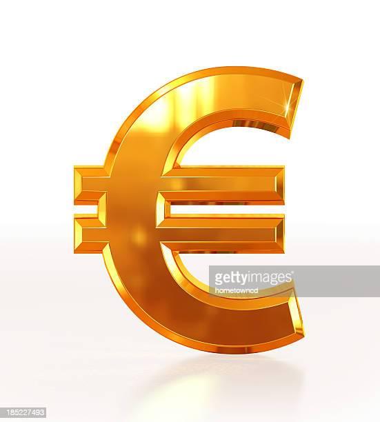 Gold Euro Symbol