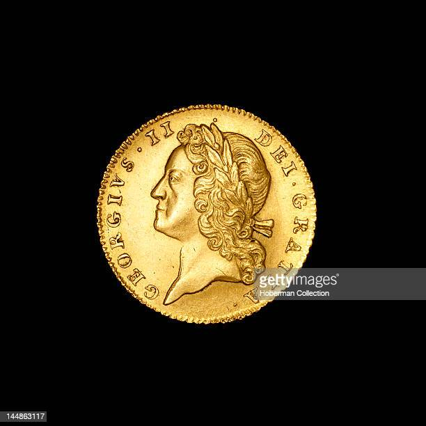 Gold five guineas England 1727Ð1760 George IV