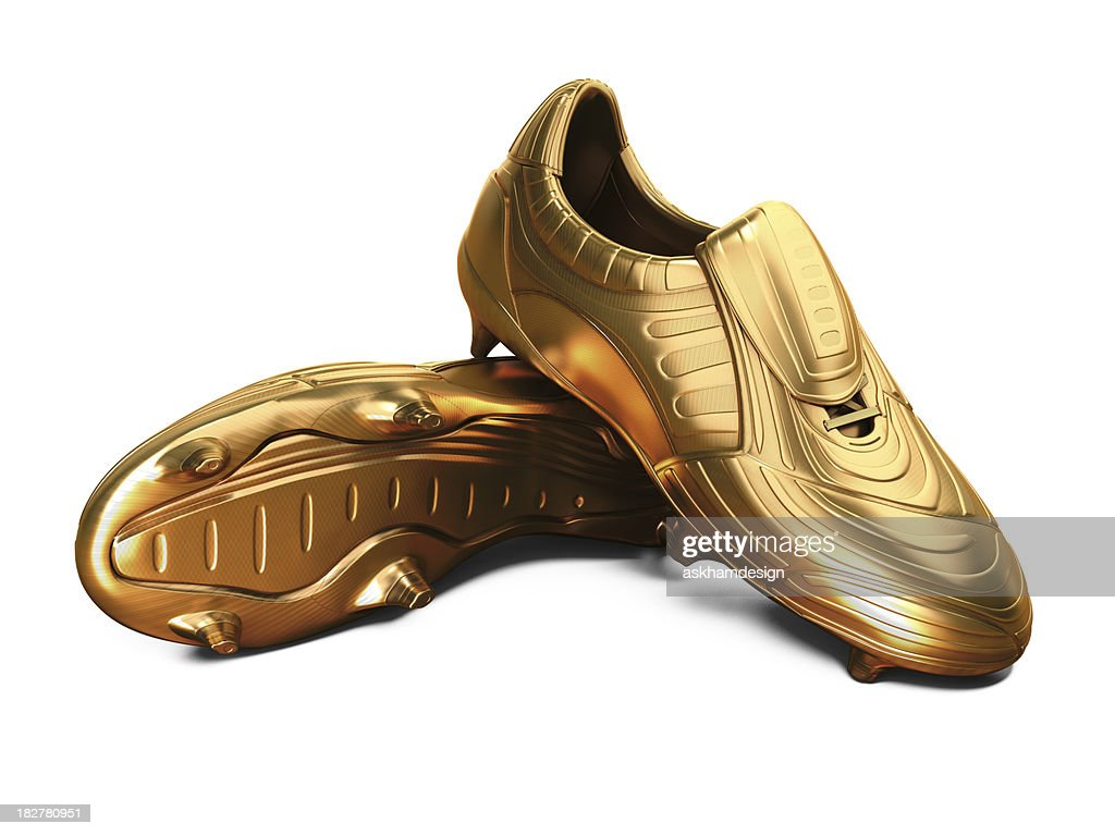 Gold Football Boots