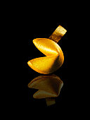 Gold Fortune Cookie