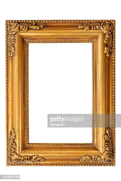 Or cadre baroque Tracé de détourage-XXXL