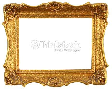 8c8f3ebd610 gold frame   Stock Photo