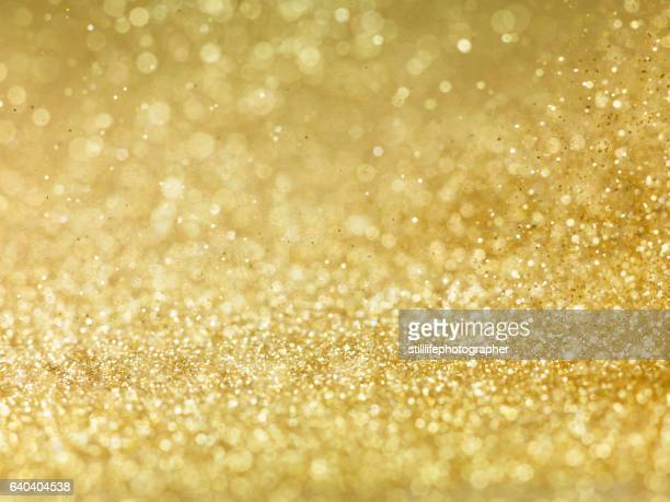 Gold Glitter bokkeh