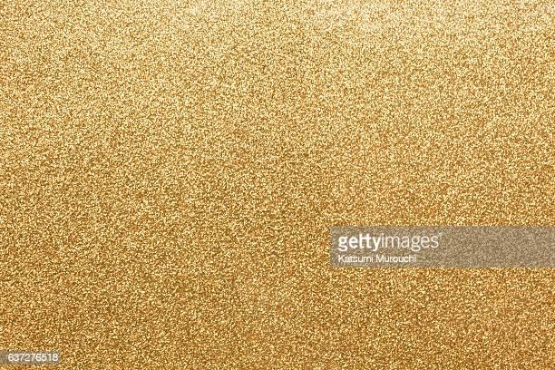 Gold glitter paper texture background