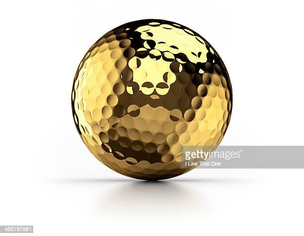 Gold Golfball