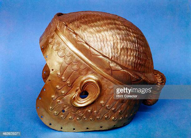 Gold helmet from Mesopotamia 2500 BC From the Iraq Museum