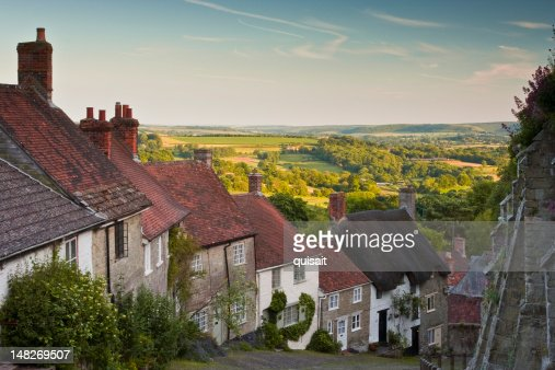 Gold Hill : Stock Photo