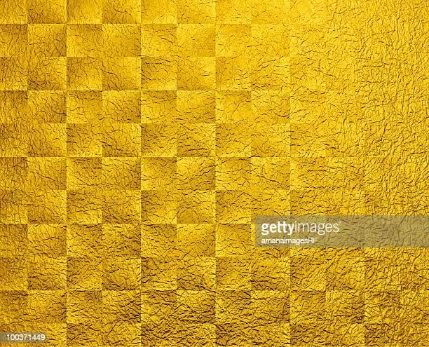 Gold Japanese paper, full frame