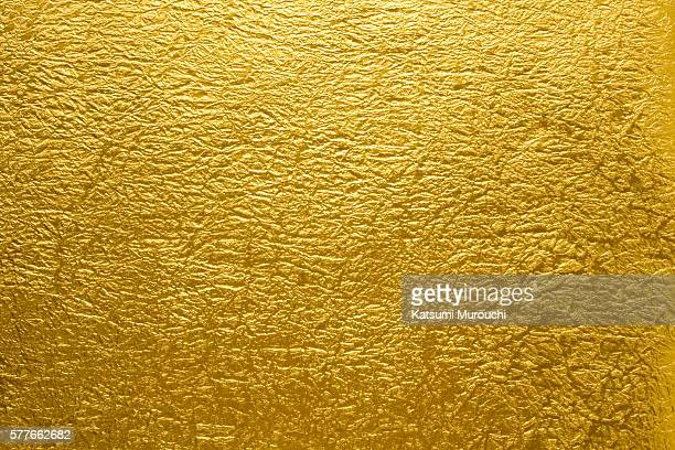 Gold Japanese paper texture background