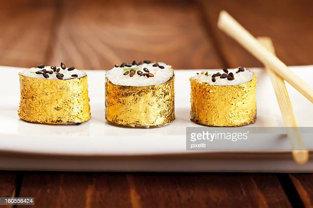 Gold sushis japonais