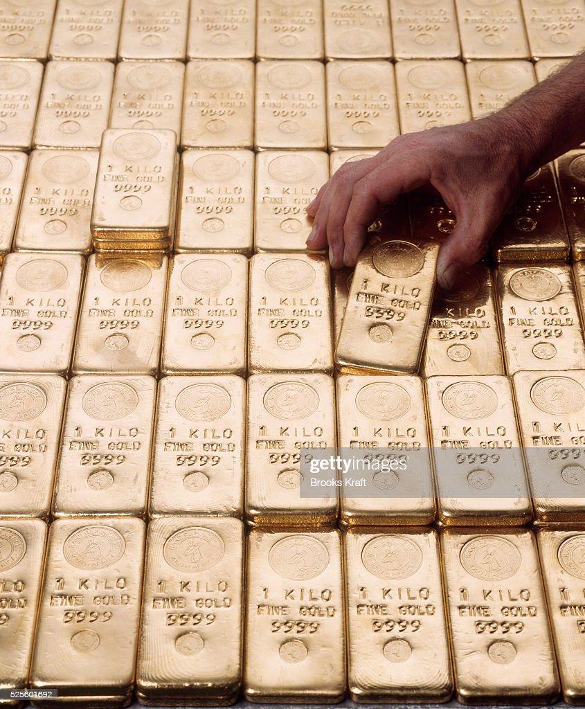 Gold Lingot from the Gold mine of Kinross