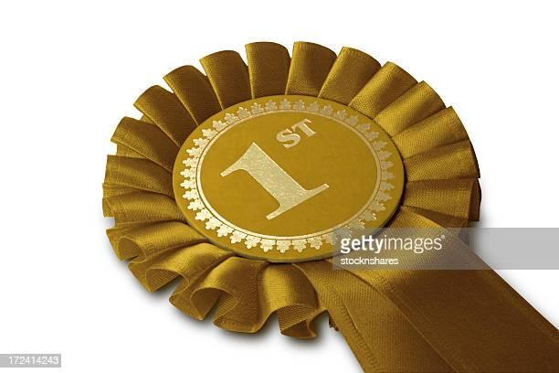 Gold Medal Rosette
