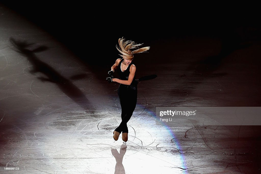 Gold medalist Anna Pogorilaya of Russia performs during Lexus Cup of China ISU Grand Prix of Figure Skating 2013 at Beijing Capital Gymnasium on November 3, 2013 in Beijing, China.