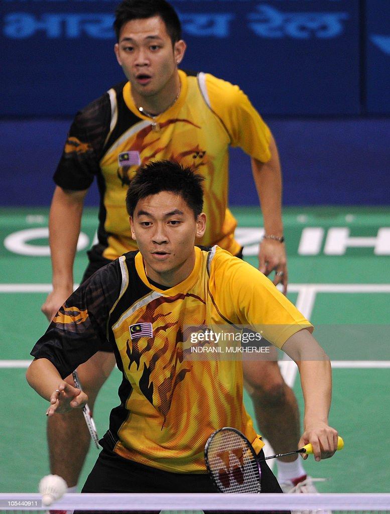 Gold medalists Koo Kien Keat back and