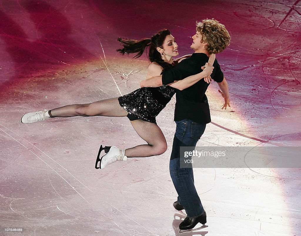 Gold medallists <a gi-track='captionPersonalityLinkClicked' href=/galleries/search?phrase=Meryl+Davis&family=editorial&specificpeople=3995758 ng-click='$event.stopPropagation()'>Meryl Davis</a> and <a gi-track='captionPersonalityLinkClicked' href=/galleries/search?phrase=Charlie+White+-+Figure+Skater&family=editorial&specificpeople=6691356 ng-click='$event.stopPropagation()'>Charlie White</a> of the United States perform during ISU Grand Prix and Junior Grand Prix Final at Beijing Capital Gymnasium on December 12, 2010 in Beijing, China.