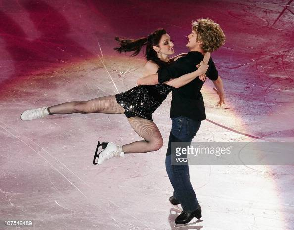 Gold medallists Meryl Davis and Charlie White of the United States perform during ISU Grand Prix and Junior Grand Prix Final at Beijing Capital...