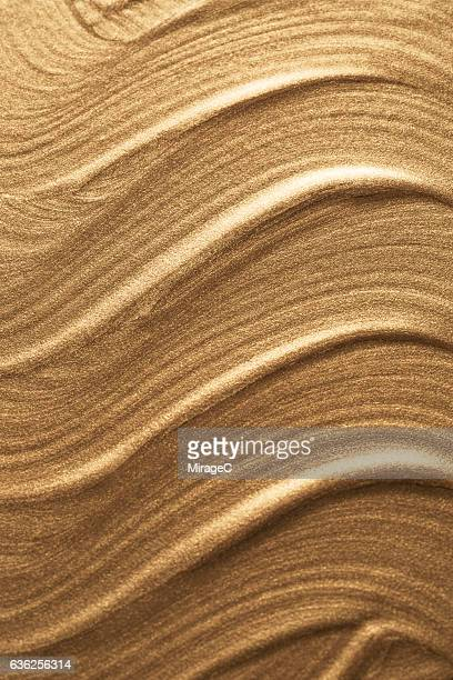 Gold Metallic Paint Texture Background