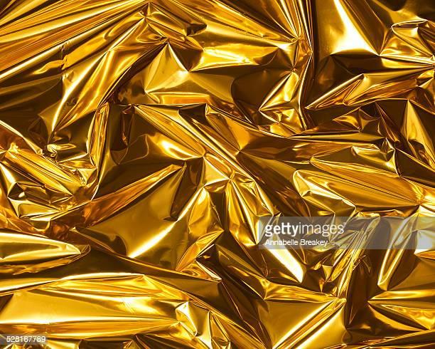 Gold Metallic Paper Texture