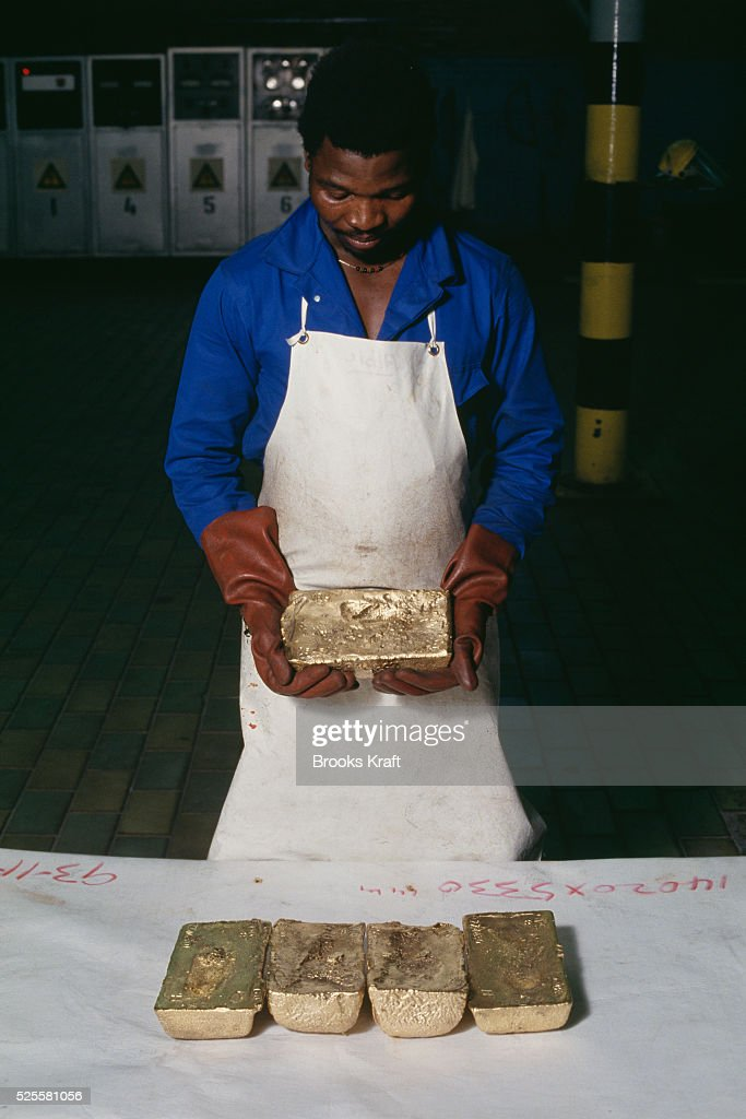 Gold mined at Kinross a small gold mining town in Mpumalanga South Africa with four gold mines in the region