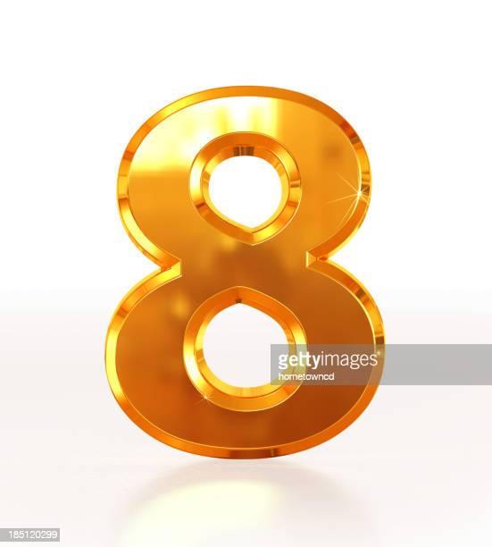 Or nombre 8