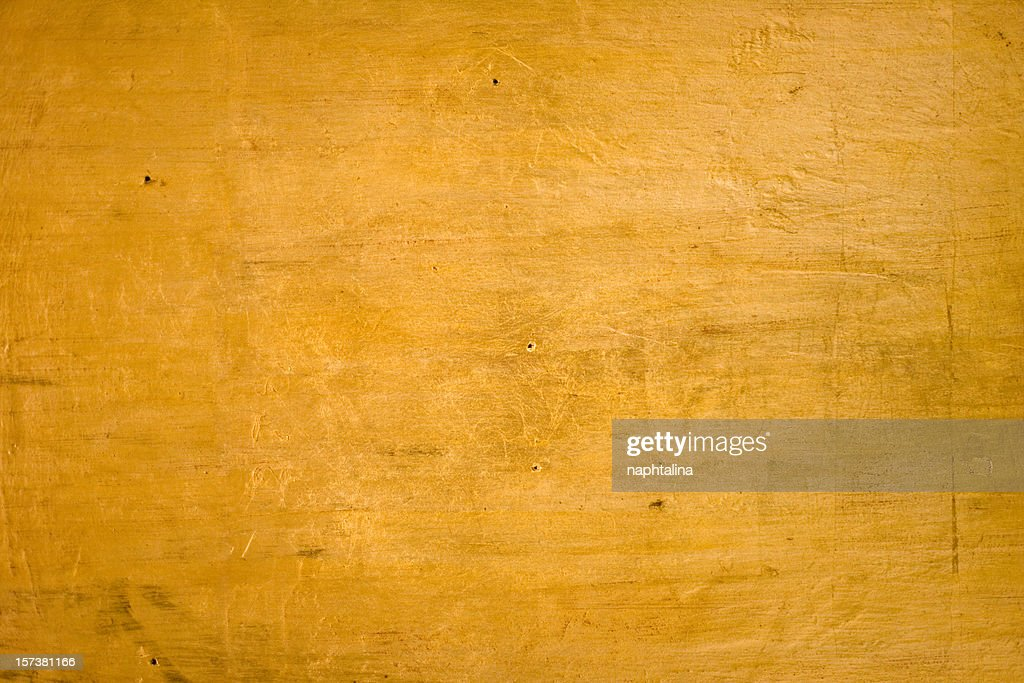 Gold on Wood
