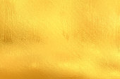 gold painted surface