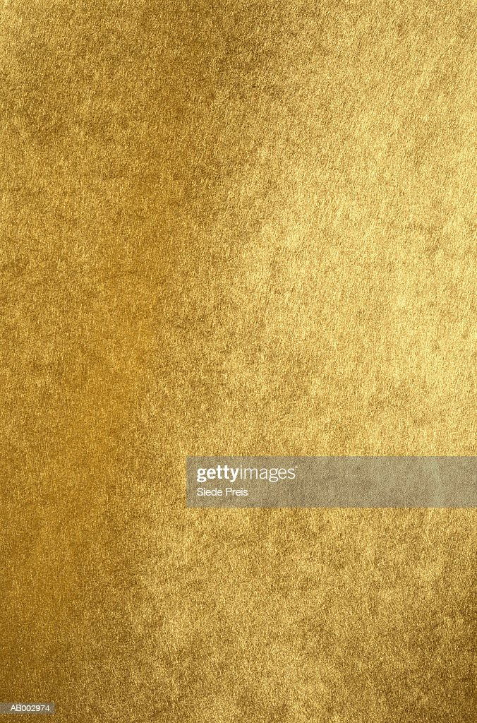 Gold Paper : Stock Photo