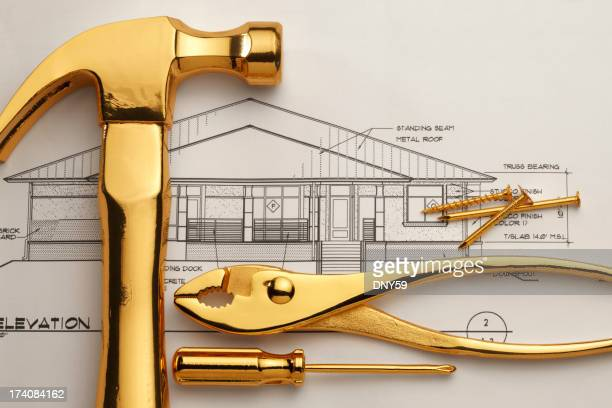 Gold Plated Tools and Blueprints