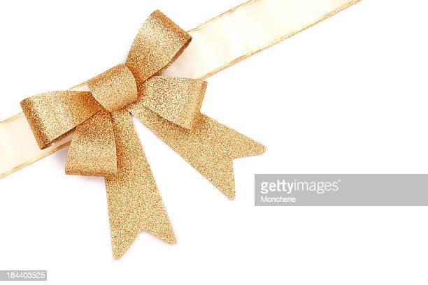 Gold Geschenk Bogen